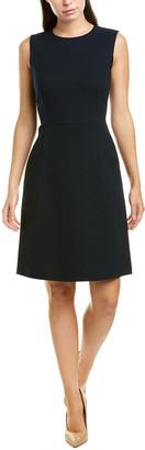 Lafayette 148 New York Maven Wool Sheath Dress