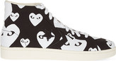Comme des Garcons Converse high-top trainers