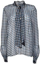 Alessandro Dell'Acqua Patterned Blouse