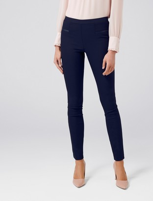 Forever New Stephanie Pull-On Skinny Pants - Navy - 4