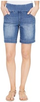 Jag Jeans Ainsley Pull-On 8 Shorts Comfort Denim in Weathered Blue Women's Shorts