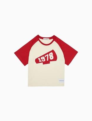 Calvin Klein Girls Cheerleader Applique T-Shirt