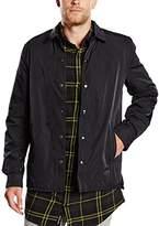 Cheap Monday Men's Shell Nylon Regular Fit Long Sleeve Casual Shirt