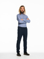 Scotch & Soda Blake - Wool Blend Dress Trousers | Pleated Relaxed Slim Fit