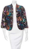 Diane von Furstenberg Sequined Jacket