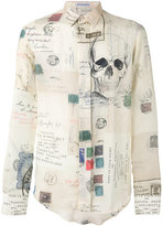 Alexander McQueen printed shirt - men - Silk/Cotton - 15