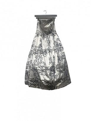 Ashley Williams White Silk Dress for Women