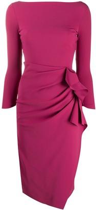 Le Petite Robe Di Chiara Boni Zelma side-ruched dress