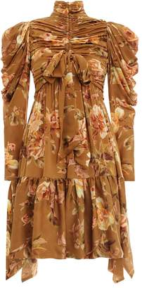 Zimmermann Resistance Ruched Mini
