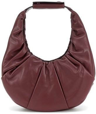 STAUD Soft Moon leather shoulder bag