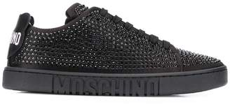 Moschino crystal embellished sneakers