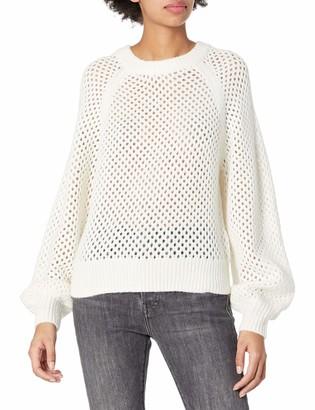 Joie Women's Long Sleeve Sweater with Open Knit