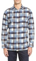 Tommy Bahama Men's Tropic Of Flannel Plaid Shirt