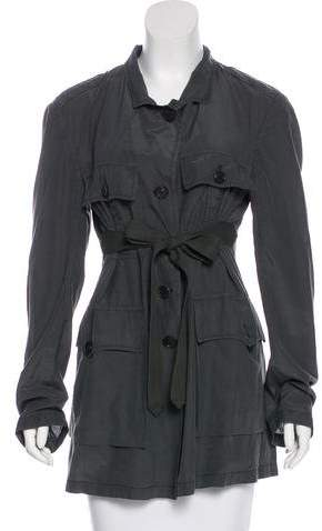 Dries Van Noten Silk Lightweight Jacket