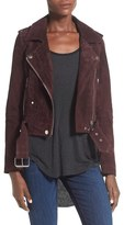 Blank NYC Women's Blanknyc Morning Suede Moto Jacket