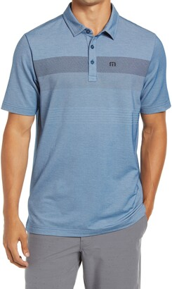Travis Mathew Two Min Drill Regular Fit Short Sleeve Polo