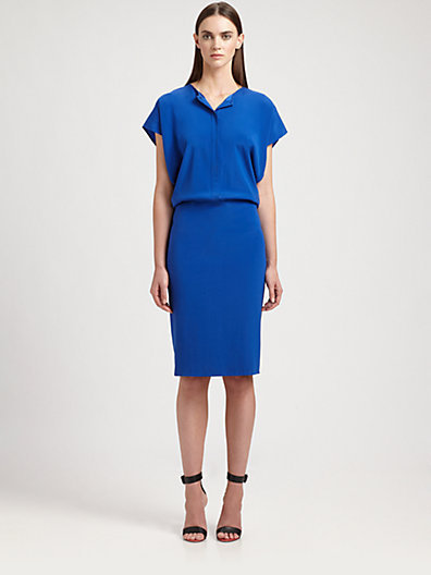 Zero Maria Cornejo Silk Mati Dress