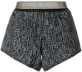 DKNY printed elasticated shorts