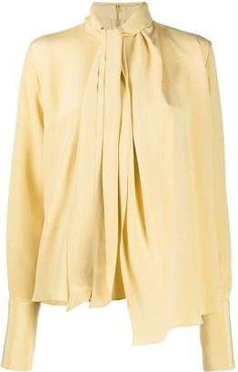 Loewe Draped Long-Sleeved Blouse