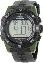 Timex Men's Expedition T49852 Resin Quartz Watch with Digital Dial