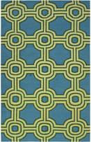 Karma Living Tribal Slick Handmade Cotton Rug