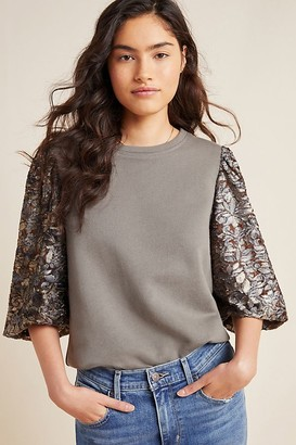 Amadi Eryna Lace-Sleeved Top