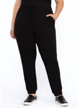 Black Tape Plus Size Skinny Fit Pull-On Pants