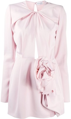 Magda Butrym Flower Motif Mini Dress