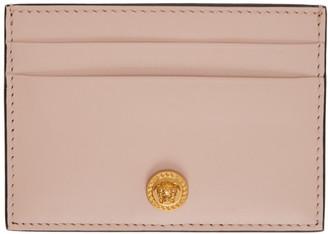 Versace Pink Medusa Card Holder