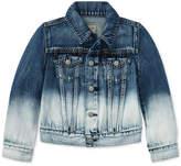 Polo Ralph Lauren Ralph Lauren Ombre Denim Cotton Jacket, Toddler Girls