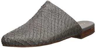 Kaanas Women's Genoa Snake Skin Mule Slide Shoe Loafer Flat