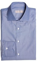 Canali Men's Regular Fit Stripe Dress Shirt