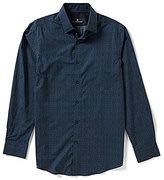 Hart Schaffner Marx Floral Print Long-Sleeve Woven Shirt