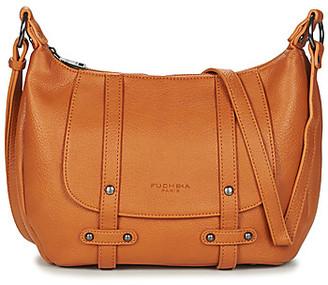 Fuchsia F9927 women's Shoulder Bag in Yellow
