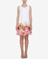 CeCe Floral-Print Shift Dress
