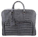 Brioni Crocodile Briefcase