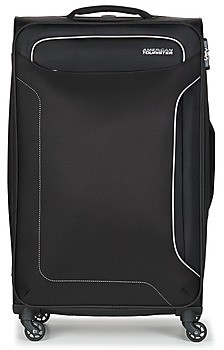 American Tourister HOLIDAY HEAT 77CM 4R women's Soft Suitcase in Black