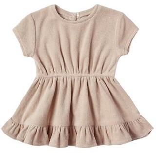 Terry Dress - Petal - 6-12 Months