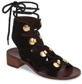 See by Chloe Women's Edna Ghillie Gladiator Sandal