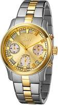 "JBW Women's JB-6217-C ""Alessandra"" Two-Tone Chronograph Diamond Watch"