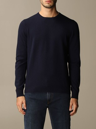 Gran Sasso Crewneck Sweater With Patches