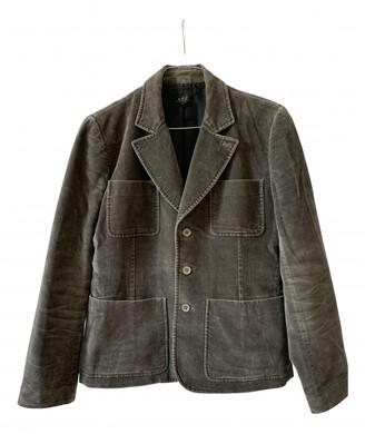 A.P.C. Khaki Velvet Jackets