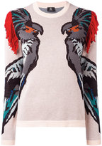 Paul Smith macaw pattern jumper - women - Cotton - XS