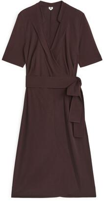 Arket Jersey Wrap Dress