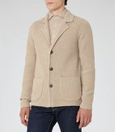 Reiss Iceland Ribbed Cardigan