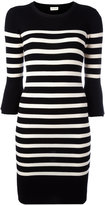 By Malene Birger striped knitted dress - women - Wool - L
