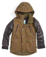 Burton Girl's 'Maddie' Water Resistant Jacket