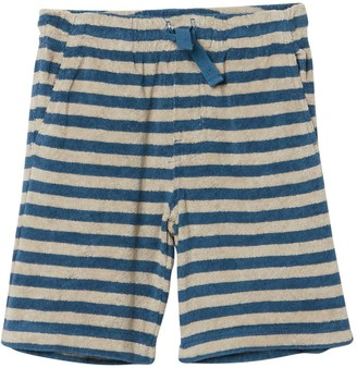 Tea Collection Terry Stripe Print Vacation Shorts