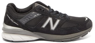 New Balance 990v5 Suede And Mesh Trainers - Black
