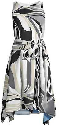 Papillon Handkerchief Dress